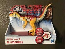 Brand New Hasbro Jurassic World Figure Biters and Bashers Allosaurus Rare