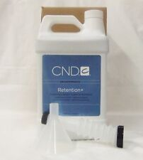 CND Retention+ Sculpting Liquid 1 Gallon / 3785 mL Superior Adhesion - Nail Prep