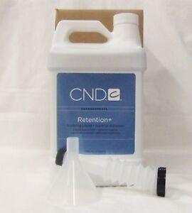 CND Retention+ Sculpting Liquid 1 Gallon / 3785 mL Superior Adhesion - Nail Prep