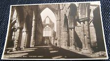 Wales The Nave looking West Tintern Abbey - unposted