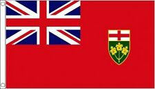ONTARIO FLAG Canada Canadian States Flags Union Jack