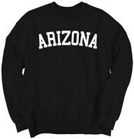 Arizona Athletic Vacation State Pride Gift AZ Crewneck Sweat Shirts Sweatshirts