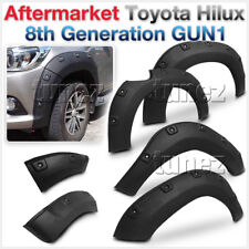 Wheel Fender Flare Black Kit For Toyota Hilux GUN1 2017 2018 Fenders TRD Arch OZ