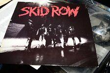 SKID ROW ORIG A1/B1 MATRIX  1989 WEST GERMANY VINYL LP 12' IMPORT HARD ROCK