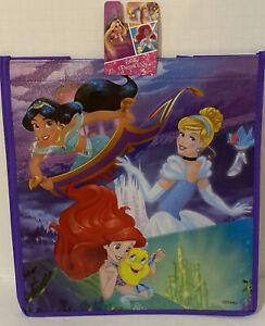 "Disney Aladdin Jasmine Magic Carpet 13""x6"" Reusable Tote Gift Bag Christmas C12"