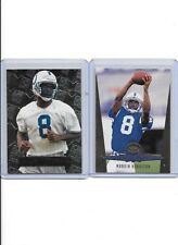 96 Metal Universe Marvin Harrison #135 RC + 1996 Gold Leaf Rookies #2 OF 10