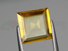 Ceylon Yellow Sapphire VS 11x11mm Square 4.30ct Loose Natural Gemstone Sri Lanka