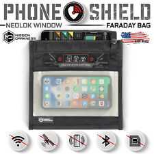 Mission Darkness NeoLok Window Faraday Bag for Phones (Magnetic Closure)