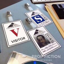 Terminator 2: Judgment Day - Cyberdyne Security Passes / Prop T-1000 Police Card
