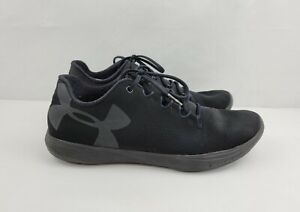 Under Armour Street Precision Low Womens Size 8 Black Training Shoes