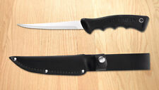"""RADA CUTLERY R210 Sportsman Knife with Scabbard (blade 5 1/4"""", overall 10 1"""