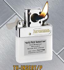 Kgm Vector Butane Flip Top Standard FLAME PIPE Lighter Insert TH INSERT P New