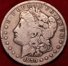 1879-CC Carson City Mint Silver Morgan Dollar