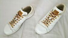 Mens Size 7.5 White Adidas Stan Smith Casual Leather Sneakers BA7500 preowned