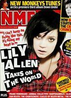 NME MAGAZINE JANUARY 2009 LILLY ALLEN DAVID BOWIE ARTIC MONKEYS FAREWELL ASTORIA