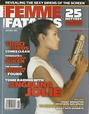 Femme Fatales Angelina Jolie Variant Cover Traci Lords RARE NM Mo Label