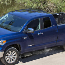 """fit 2007-2018 Toyota Tundra Double Cab Aluminum 5"""" Side Step Nerf Running Boards"""