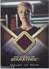 STAR TREK WOMEN OF WCC8 JERI RYAN SEVEN OF NINE 7OF9 COSTUME CARD
