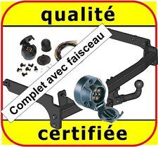 Peugeot 406 D8//D9 Break 99-04 Attelage fixe+faisceau 7-broches uni.