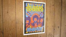 Jimi Hendrix Experience 1968 Repro Tour POSTER