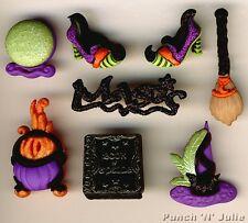 WITCH's INCANTESIMO-Halloween stregoneria wicca Novelty Dress IT UP Pulsanti Craft