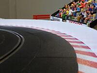 Slotcar LEITPLANKEN BANDE 4cm x 200cm für Carrera DIGITAL 85940