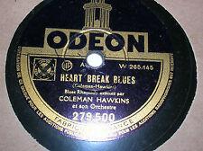 78 trs-rpm-COLEMAN HAWKINS - Heart break blues - ODEON 279500