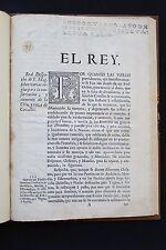 1746 - Horse Breeding - Rare Royal Decree Spain Andalusian