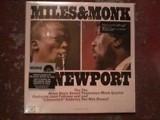 Miles & Monk - At Newport - MONO Edition Rsd Black Friday 2013 - Vinyl/LP - New