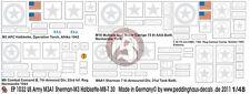 Peddinghaus 1/48 Markings for M4A1 Sherman, M3, T30 HMC, M8 CCB & M16 MGMC 1032