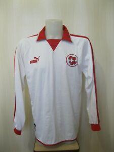 Switzerland team 2002/2003/2004 Size XL Puma Swiss soccer shirt jersey maillot