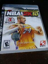 Ps3 NBA 2k10