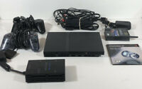 Sony PlayStation 2 PS2 Slim Console System BUNDLE, Wireless Adapter, MultiTap