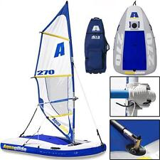 Aquaglide MultiSport 270 Inflatable Sailboat, Windsurfer, Kayak & Tow Toy