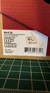 Vans Toddler 4.5 sk8 hi zip
