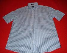 Gant Men's Short Sleeve Striped Casual Shirts & Tops
