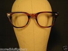 New Vintage Pathway Challenger Eyeglasses Frames Tortoise Shell Size 50 24 150