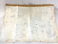 1931 Antique Map of East Sussex Splayne's Green Uckfield Flitteridge Forge Wood
