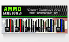 SPRINGFIELD XD / XDM 9MM - Variety Pack - Magazine Base Plate Decal 6 PACK