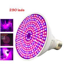 290 LED Full spectrum Plant Grow Light Lamp bulbs for Seeds Flower Growth Indoor