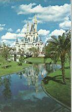 CARTOLINA Walt Disney World DISNEYLAND CASTELLO non viaggiata Mod.12