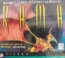 Rama PC Video Game - Sierra - CD ROM Jewel Case with insert and Disks
