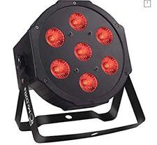 LED Par Lights, 7LEDs x 10W 4in1 RGBW Par Can Lights, LED Stage Wash Lights