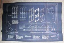 Victorian Screen/Storm Door Combination Plan