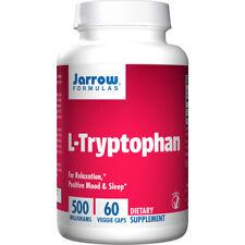 L-Tryptophan, 500mg x 60 Capsules - Jarrow Formulas