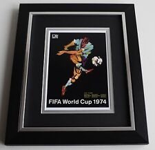 Franz Beckenbauer SIGNED 10X8 FRAMED Photo Autograph Germany World Cup AFTAL COA