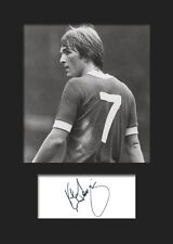 Kenny Dalglish Signed Photo A5 Mounted Print - FREE DELIVERY