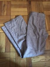 Ann Taylor Brown Wool Dress Pants Womens Size 2, New With Tags