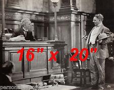 """WC Fields~W.C Fields~Courtroom~Judge~Attorney~Photo ~Lawyer~ Poster 16"""" x  20"""""""