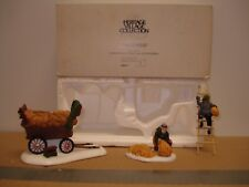 Department 56 Heritage Village Collection Thatchers Set of 3